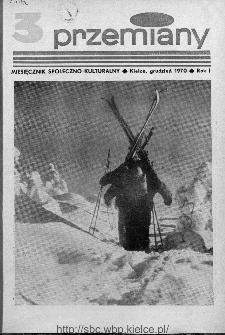 Przemiany : miesięcznik społeczno-kulturalny, 1970, R.1,grudzień