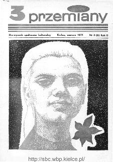 Przemiany : miesięcznik społeczno-kulturalny, 1971, R.2,marzec