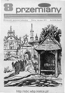 Przemiany : miesięcznik społeczno-kulturalny, 1971, R.2,sierpień