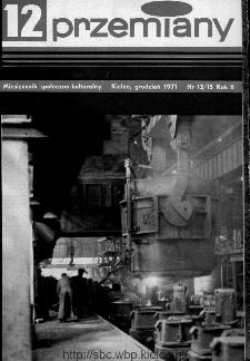 Przemiany : miesięcznik społeczno-kulturalny, 1971, R.2,grudzień