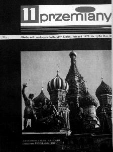 Przemiany : miesięcznik społeczno-kulturalny, 1972, R.3,listopad