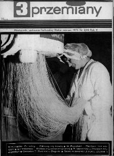 Przemiany : miesięcznik społeczno-kulturalny, 1974, R.5,marzec