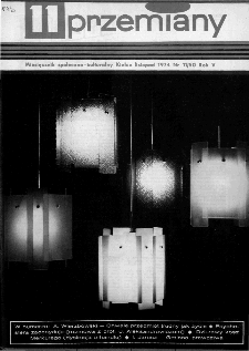 Przemiany : miesięcznik społeczno-kulturalny, 1974, R.5,listopad