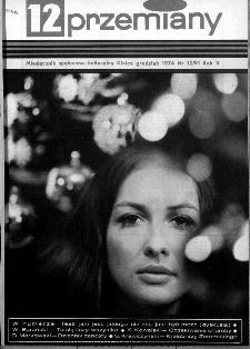 Przemiany : miesięcznik społeczno-kulturalny, 1974, R.5,grudzień
