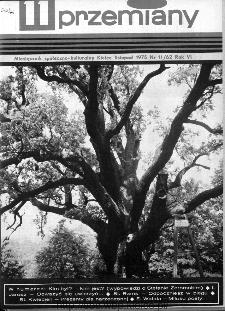 Przemiany : miesięcznik społeczno-kulturalny, 1975, R.6,listopad