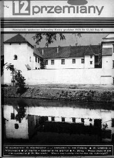 Przemiany : miesięcznik społeczno-kulturalny, 1975, R.6, grudzień