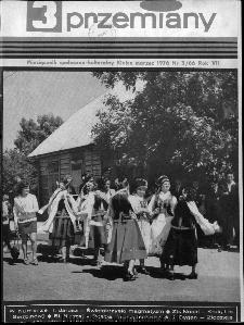 Przemiany : miesięcznik społeczno-kulturalny, 1976, R.7, marzec