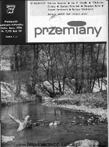 Przemiany : miesięcznik społeczno-kulturalny, 1976, R.7, lipiec