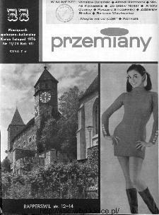 Przemiany : miesięcznik społeczno-kulturalny, 1976, R.7, listopad