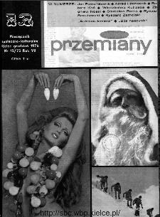 Przemiany : miesięcznik społeczno-kulturalny, 1976, R.7, grudzień