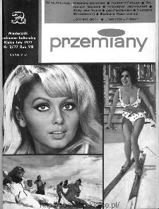 Przemiany : miesięcznik społeczno-kulturalny, 1977, R.8, luty