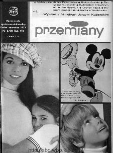 Przemiany : miesięcznik społeczno-kulturalny, 1977, R.8, czerwiec