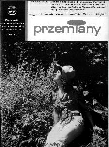 Przemiany : miesięcznik społeczno-kulturalny, 1977, R.8, wrzesień