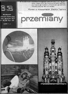 Przemiany : miesięcznik społeczno-kulturalny, 1977, R.8,grudzień