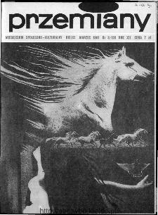 Przemiany : miesięcznik społeczno-kulturalny, 1981, R.12,marzec
