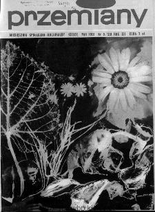 Przemiany : miesięcznik społeczno-kulturalny, 1981, R.12,maj