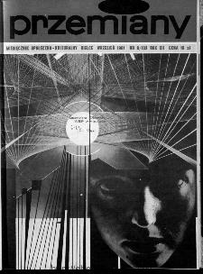 Przemiany : miesięcznik społeczno-kulturalny, 1981, R.12,wrzesień