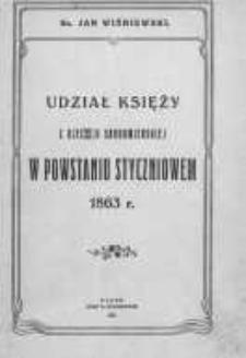 Udział księży z djecezji sandomierskiej w powstaniu styczniowem 1863 r.