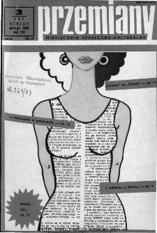 Przemiany : miesięcznik społeczno-kulturalny, 1983, R. 14, marzec