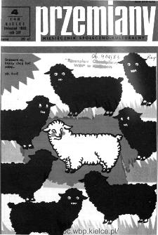 Przemiany : miesięcznik społeczno-kulturalny, 1983, R.14, kwiecień