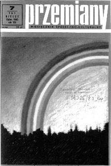 Przemiany : miesięcznik społeczno-kulturalny, 1983, R.14, lipiec