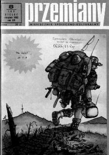 Przemiany : miesięcznik społeczno-kulturalny, 1983, R.14, sierpień