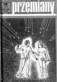 Przemiany : miesięcznik społeczno-kulturalny, 1983, R.14, grudzień