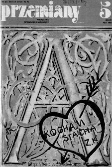 Przemiany : miesięcznik społeczno-kulturalny, 1984, R.15, maj