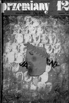 Przemiany : miesięcznik społeczno-kulturalny, 1984, R.15, grudzień