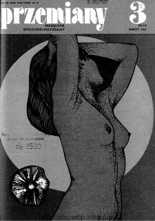 Przemiany : miesięcznik społeczno-kulturalny, 1986, R.17, marzec