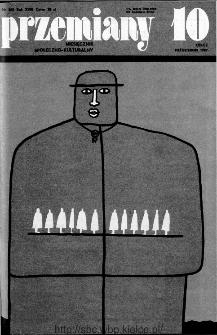 Przemiany : miesięcznik społeczno-kulturalny, 1987, R.18, październik