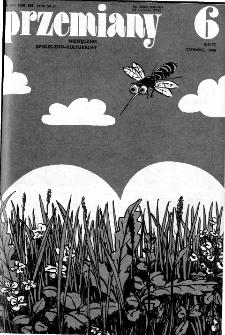 Przemiany : miesięcznik społeczno-kulturalny, 1988, R.19, czerwiec