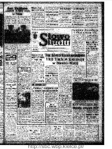 Słowo Ludu : organ Komitetu Wojewódzkiego Polskiej Zjednoczonej Partii Robotniczej, 1972, R.XXIII, nr 191