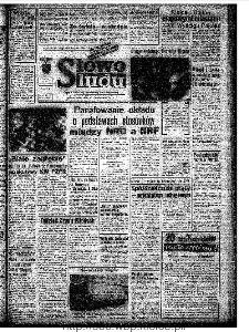 Słowo Ludu : organ Komitetu Wojewódzkiego Polskiej Zjednoczonej Partii Robotniczej, 1972, R.XXIII, nr 314