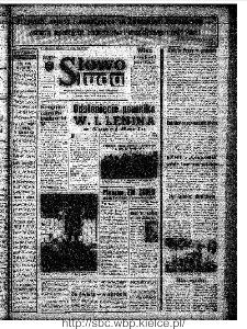Słowo Ludu : organ Komitetu Wojewódzkiego Polskiej Zjednoczonej Partii Robotniczej, 1973, R.XXIV, nr 119