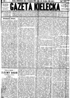 Gazeta Kielecka, 1892, R.23, nr 58