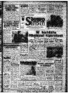 Słowo Ludu : organ Komitetu Wojewódzkiego Polskiej Zjednoczonej Partii Robotniczej, 1973, R.XXIV, nr 197