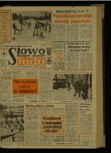 Słowo Ludu : dziennik Polskiej Zjednoczonej Partii Robotniczej, 1987 R.XXXVIII, nr 29 (magazyn środowy)