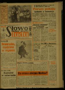 Słowo Ludu : dziennik Polskiej Zjednoczonej Partii Robotniczej, 1987 R.XXXVIII, nr 41 (magazyn środowy)