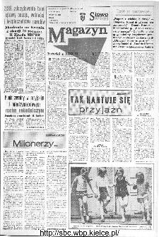 Słowo Ludu : organ Komitetu Wojewódzkiego Polskiej Zjednoczonej Partii Robotniczej, 1973, R.XXIV, nr 195 (magazyn)