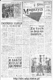 Słowo Ludu : organ Komitetu Wojewódzkiego Polskiej Zjednoczonej Partii Robotniczej, 1973, R.XXIV, nr 244 (magazyn)