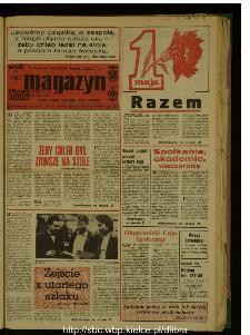Słowo Ludu : dziennik Polskiej Zjednoczonej Partii Robotniczej, 1987 R.XXXVIII, nr 100 (magazyn)