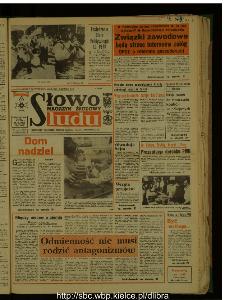 Słowo Ludu : dziennik Polskiej Zjednoczonej Partii Robotniczej, 1987 R.XXXVIII, nr 104 (magazyn środowy)