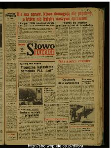 Słowo Ludu : dziennik Polskiej Zjednoczonej Partii Robotniczej, 1987 R.XXXVIII, nr 108