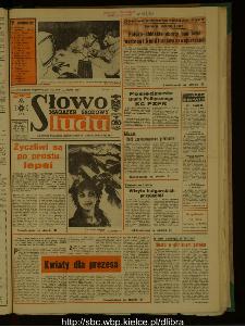 Słowo Ludu : dziennik Polskiej Zjednoczonej Partii Robotniczej, 1987 R.XXXVIII, nr 128 (magazyn środowy)