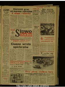 Słowo Ludu : dziennik Polskiej Zjednoczonej Partii Robotniczej, 1987 R.XXXVIII, nr 161