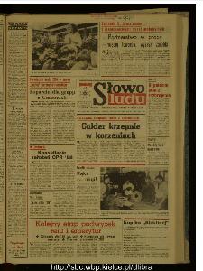 Słowo Ludu : dziennik Polskiej Zjednoczonej Partii Robotniczej, 1987 R.XXXVIII, nr 187