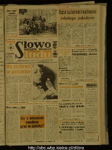 Słowo Ludu : dziennik Polskiej Zjednoczonej Partii Robotniczej, 1987 R.XXXVIII, nr 192