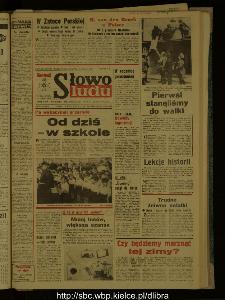 Słowo Ludu : dziennik Polskiej Zjednoczonej Partii Robotniczej, 1987 R.XXXVIII, nr 203
