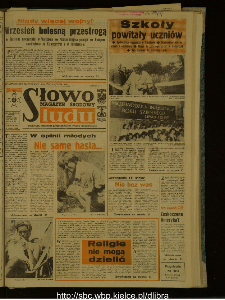 Słowo Ludu : dziennik Polskiej Zjednoczonej Partii Robotniczej, 1987 R.XXXVIII, nr 204 (magazyn środowy)